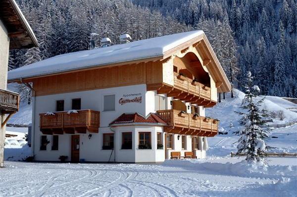 Foto esterno in inverno Gattererhof