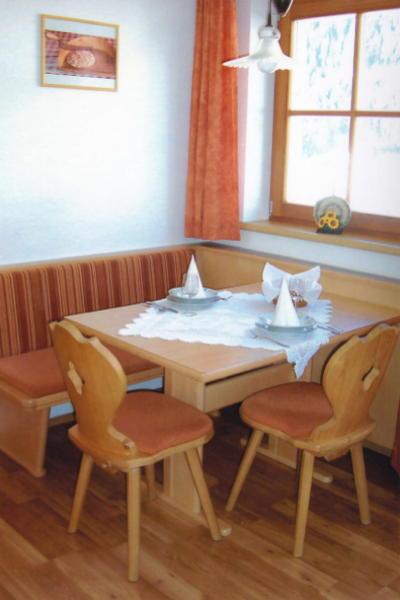 La zona giorno Appartamenti in agriturismo Gattererhof