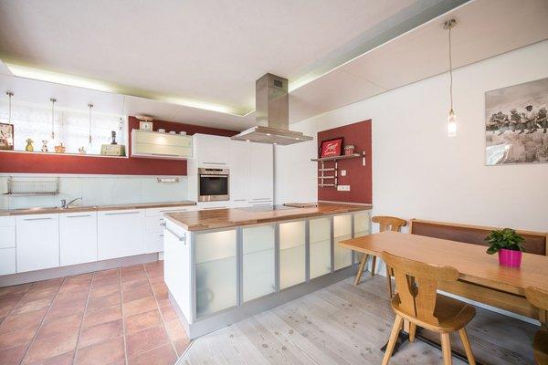 La zona giorno Appartamenti in agriturismo Hintnerhof