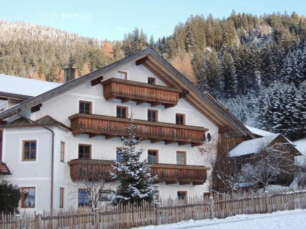 Foto esterno in inverno Hintnerhof