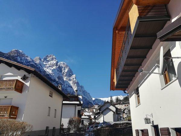 Foto invernale di presentazione Appartamenti Sweet Dolomites