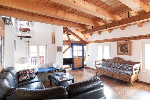 The living area Apartment La Casa del Noce