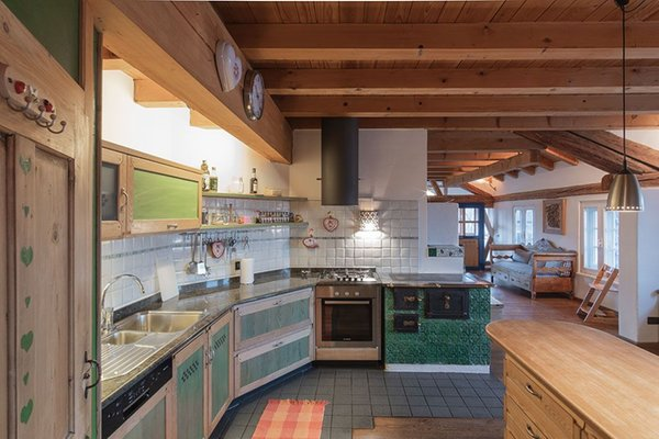 Photo of the kitchen La Casa del Noce