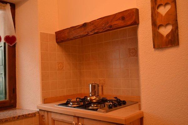 Foto der Küche Ciesa La Vèrda