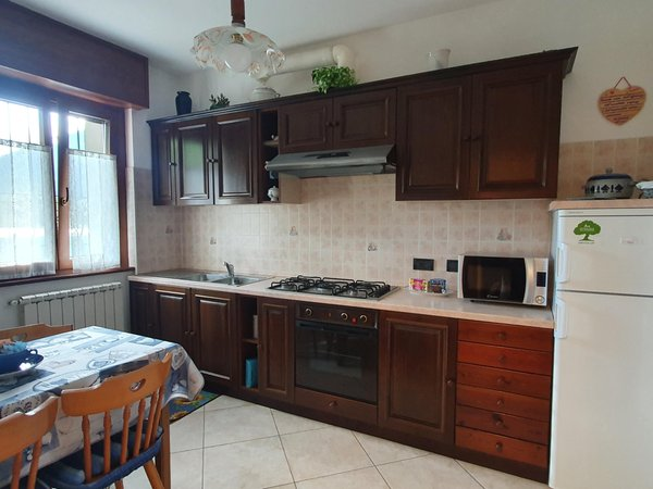 Foto della cucina Casa vacanze Al Brik