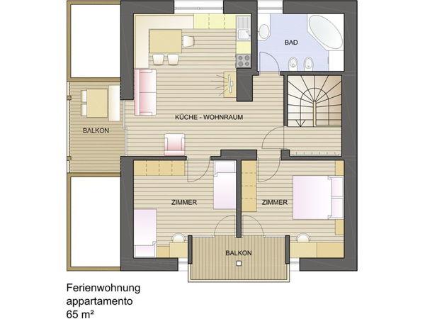 Appartamenti in agriturismo rotmooshof valle di casies plan de corones - Web cam bagno maddalena ...