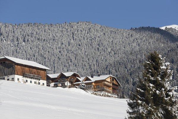 Foto esterno in inverno Unterguggenberghof
