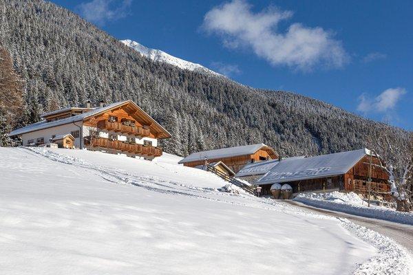 Winter Präsentationsbild Ferienwohnungen auf dem Bauernhof Mahrhof