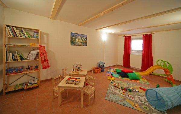Das Kinderspielzimmer Ferienwohnungen auf dem Bauernhof Mahrhof