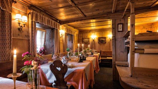 Das Restaurant St. Vigil La Ücia by Fana Ladina