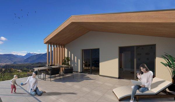 Foto vom Balkon Villa Montis