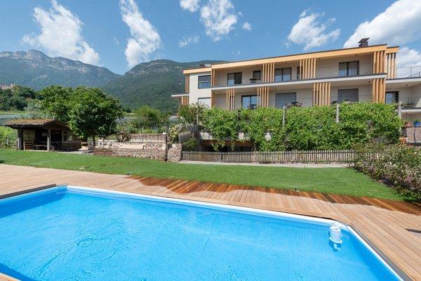 Foto Außenansicht im Sommer Villa Montis