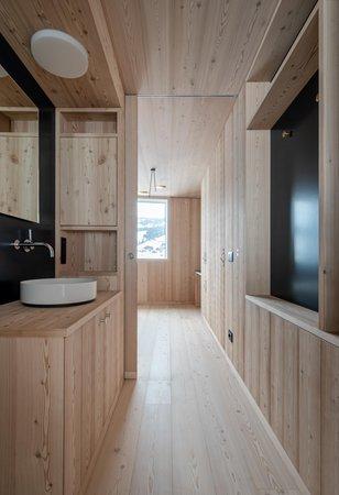 Foto del bagno Appartamenti Larix Lodge