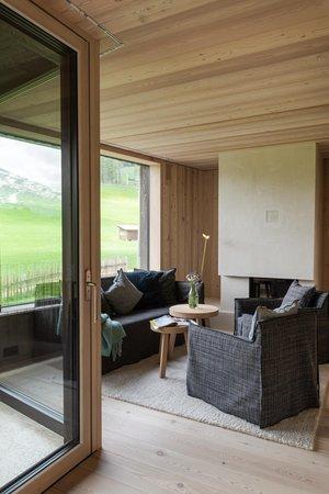 La zona giorno Appartamenti Larix Lodge