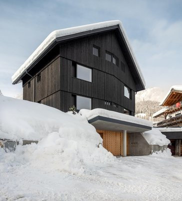 Foto invernale di presentazione Appartamenti Larix Lodge