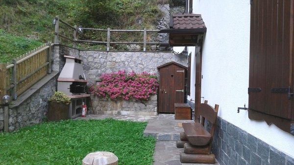 Foto esterno in estate Casa Arianna