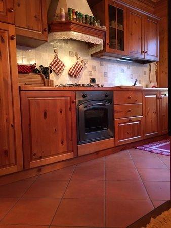 Foto der Küche Casa Arianna