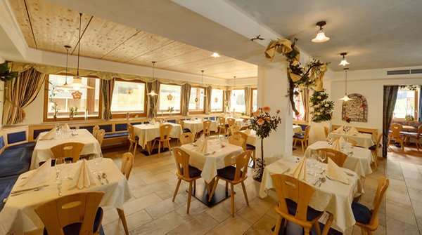 The restaurant Valle di Casies / Gsieser Tal Tyrol