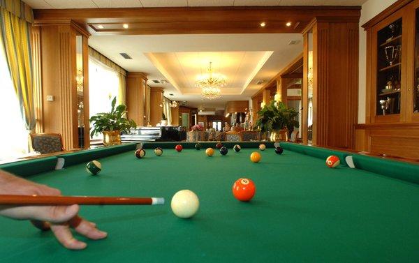 La sala giochi Bellavista Relax Hotel