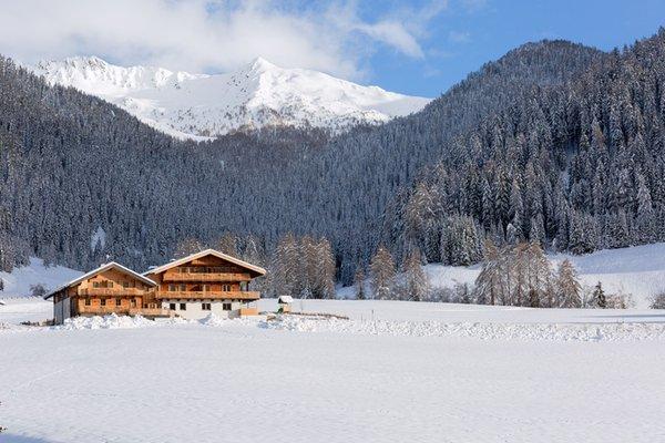 Foto invernale di presentazione Residence Alpina
