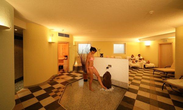 Foto vom Wellness-Bereich Hotel Dolomiten