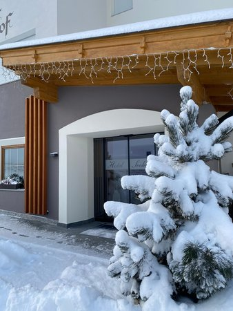 Photo exteriors in winter Seehof