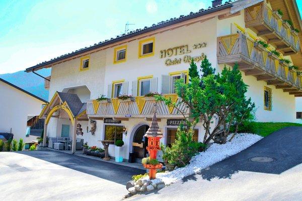 Foto estiva di presentazione Hotel Chalet Olympia