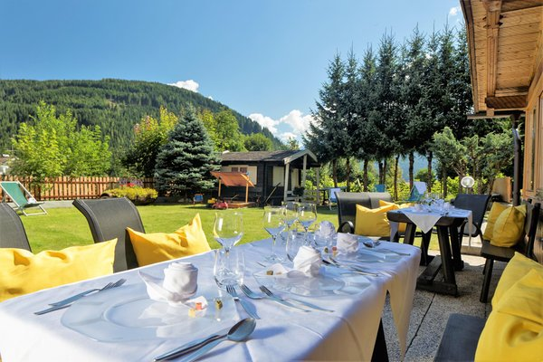 Il ristorante Tesido Chalet Olympia