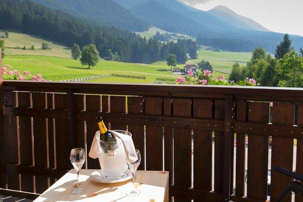 Foto vom Balkon Tirolerhof