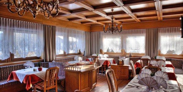 The restaurant Tesido / Taisten Panorama