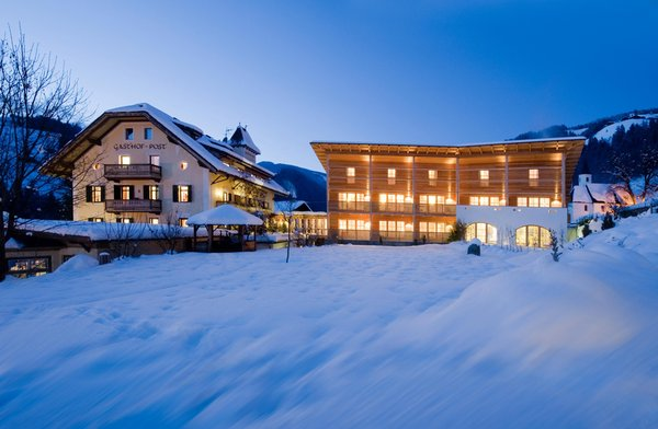 Foto invernale di presentazione Ostaria Posta - Hotel 3 stelle