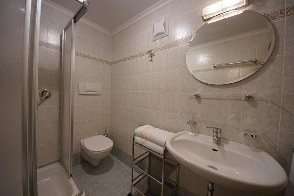 Foto del bagno Appartamenti in agriturismo Fiung