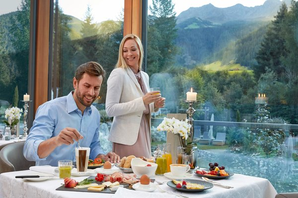 The breakfast Quelle Nature Spa Resort - Hotel 5 stars