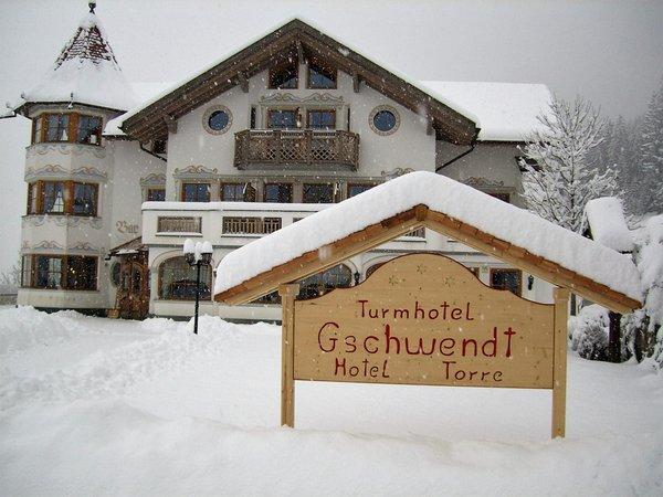 Foto invernale di presentazione Hotel Torre Gschwendt - Hotel 3 stelle