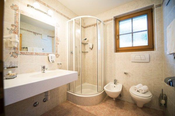 Foto del bagno Hotel Torre Gschwendt