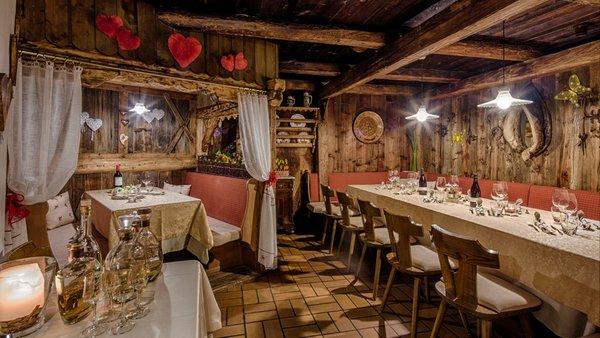 Il ristorante Corvara Adlerkeller Restaurant & Grill
