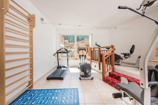 Foto della zona fitness Hotel Stoll
