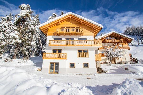 Winter Präsentationsbild Ferienwohnungen Niciora