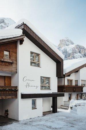 Photo exteriors in winter Ciasa Hanny