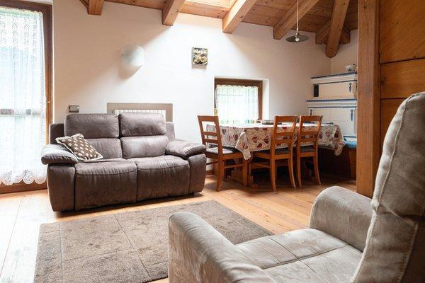 La zona giorno Appartamenti In Villa