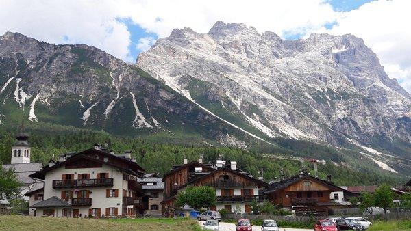 La posizione Appartamento Cà Agnel Cortina d'Ampezzo - Zuel