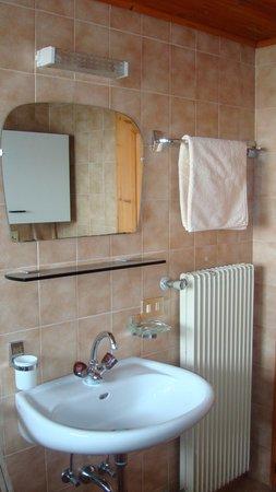 Foto del bagno Appartamenti in agriturismo Dejaco