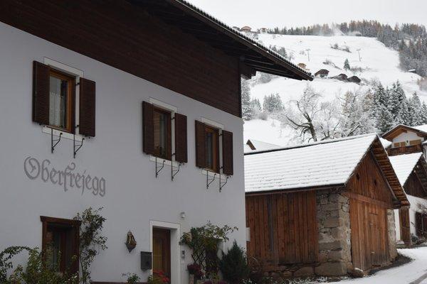 Foto esterno in inverno Oberfreiegg