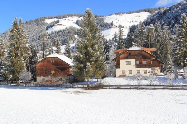 Foto esterno in inverno Planhof