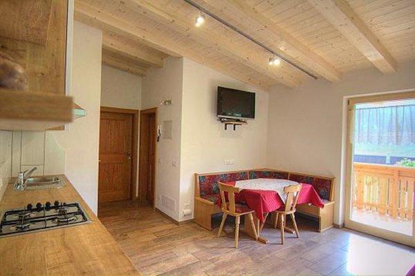 La zona giorno Appartamenti in agriturismo Planhof