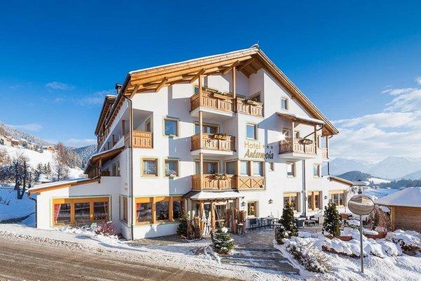 Foto invernale di presentazione Hotel Antermoia - Hotel + Residence 3 stelle