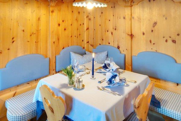 Il ristorante Antermoia (San Martino in Badia) Hotel Antermoia