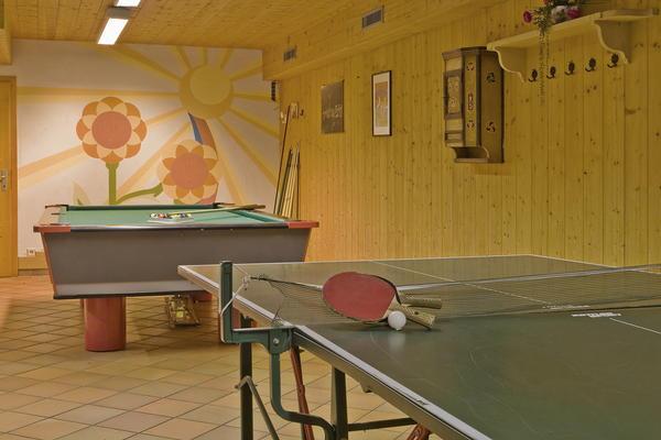 La sala giochi Hotel + Residence Fontanella