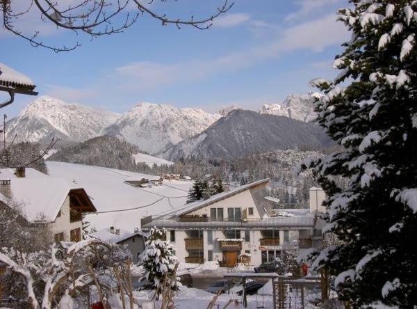 Winter Präsentationsbild Hotel Pütia