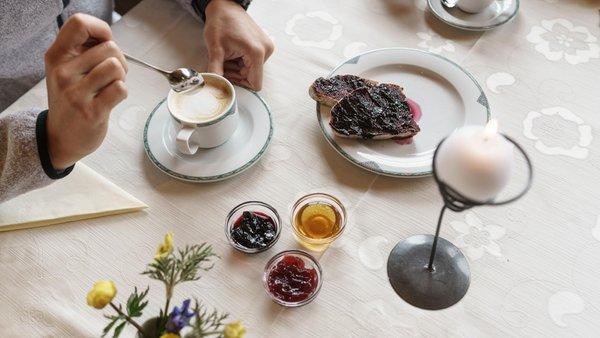 La colazione Rifugio-Hotel Ütia de Börz
